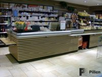 Pillen checkouts kassameubel woodline