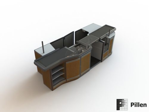 Checkout render door Pillen