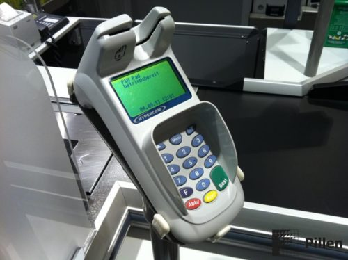 Pinautomaat door Pillen checkouts