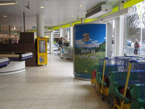 Tochtoplossingen Pillen Checkouts